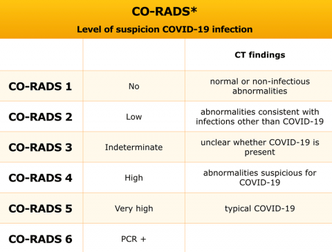 The Radiology Assistant : CO-RADS classification