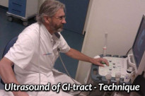 US of the GI tract - Technique